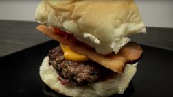 Mini Cheddar Bacon Burger
