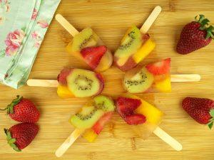 Picolé de Salada de Fruta