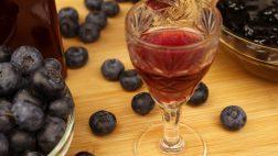 Licor e Geléia de Blueberry