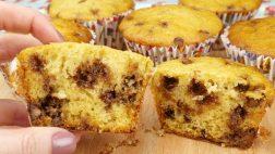 Muffin com Chocolate