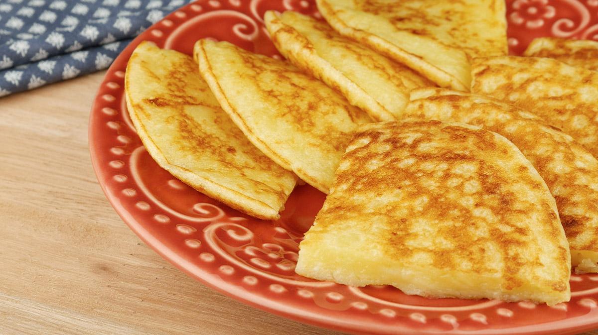 receita de pao de queijo na frigideira