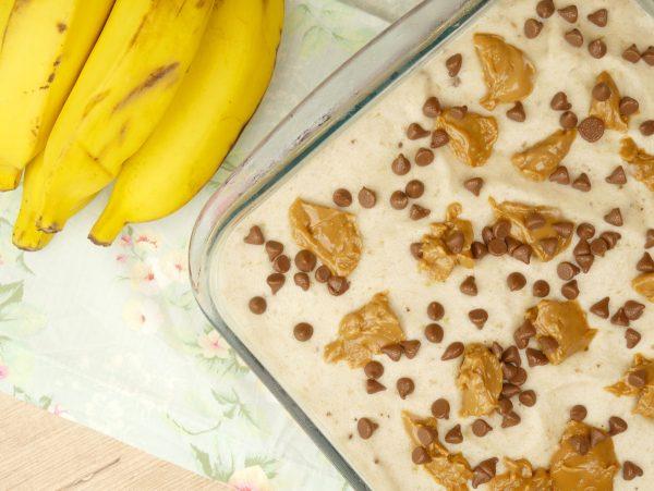 Como Fazer Sorvete de Banana com Doce de Leite e Chocolate