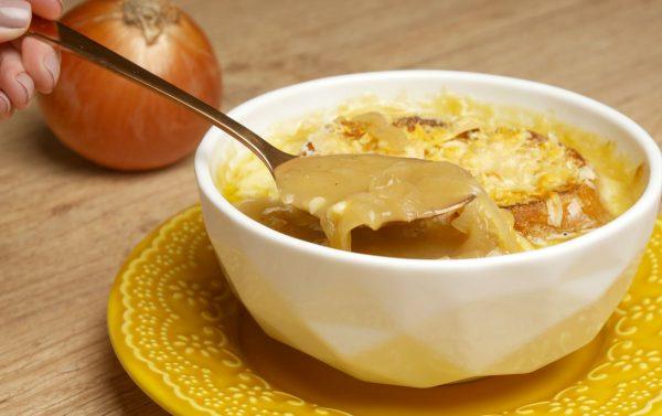 Como fazer Sopa de Cebola