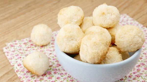 Como fazer Biscoitinho de Coco sem Glúten e sem Lactose