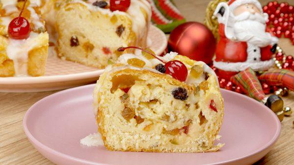 Como fazer Rosca Natalina Fácil e Fofinha
