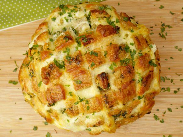 Como fazer Pão Italiano com Alho e Queijo