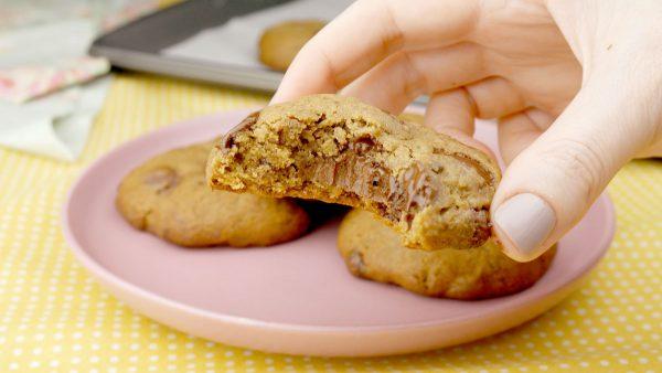 Como fazer Cookies Recheado com Nutella