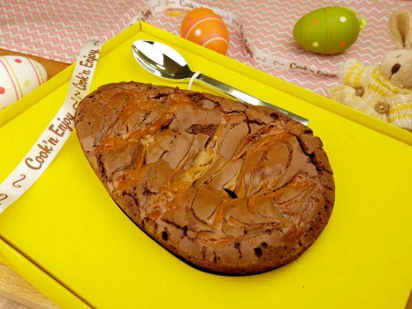 Como fazer Ovo Brownie recheado e ovo casca de brownie - Receita 2 em 1 de Páscoa
