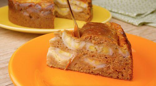 Torta Seca de Banana