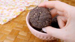 Biscoitinhos de Chocolate com Aveia