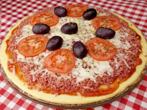 Pizza de Micro ondas