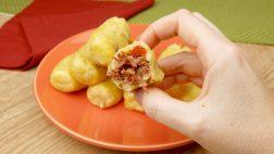 Bolinho de Mandioca com Carne Seca