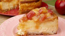 Cheesecake de Maçã