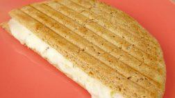 Pão fit de frigideira